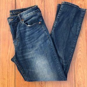 American Eagle Flex 33x32 straight fit denim jeans